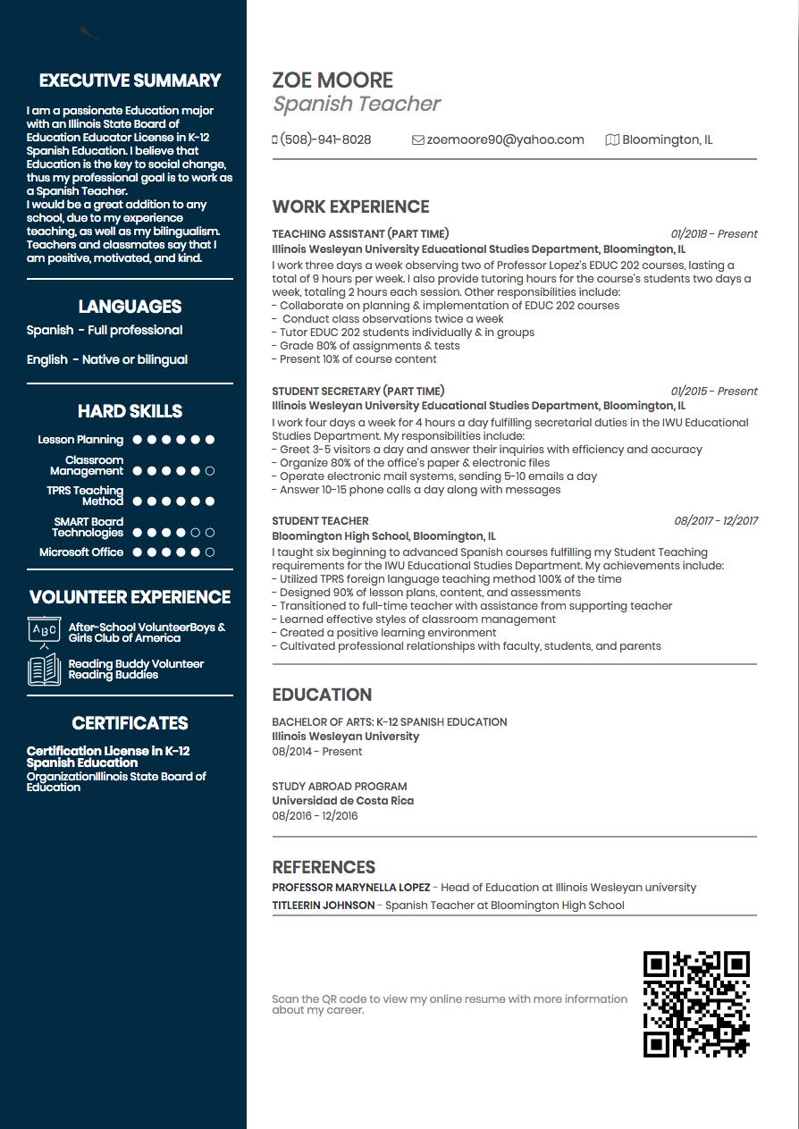 best online resume builder site