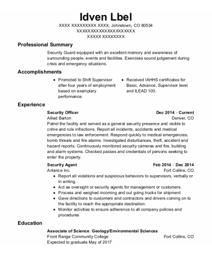 police department resume templates