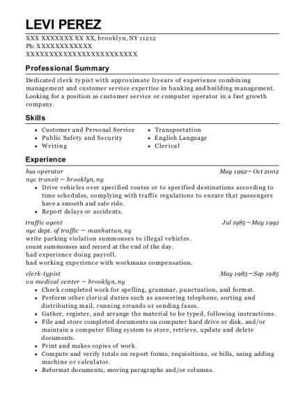 bronx community college resume template