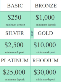 Wise trader types of accounts