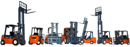 Different types of forklifts