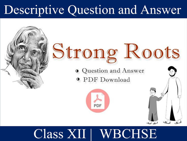 Strong Roots - Important Question and Answer | Question and Answer of Strong Roots | Free PDF Download  |  Set-2
