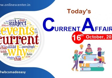 Current-affairs-of-today-16-October-2021
