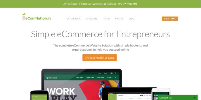 ecommerce SAAS platforms in India