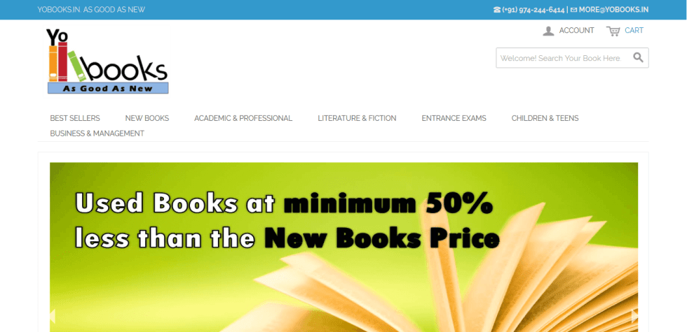 used books online in india