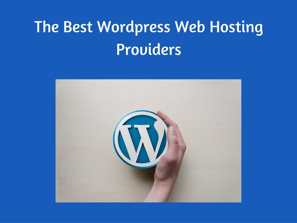 Wordpress web hosting providers