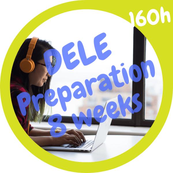 DELE preparation course 160h