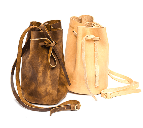 Leather Bucket Bags