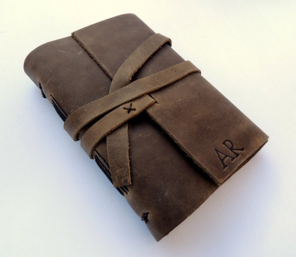 leather book cover