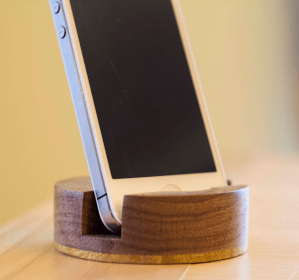 iphone stand desk