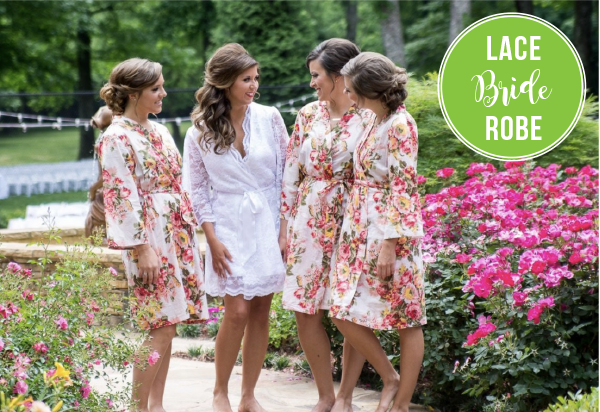 floral bridesmaid robes set bridal party robes floral robes for bridesmaids