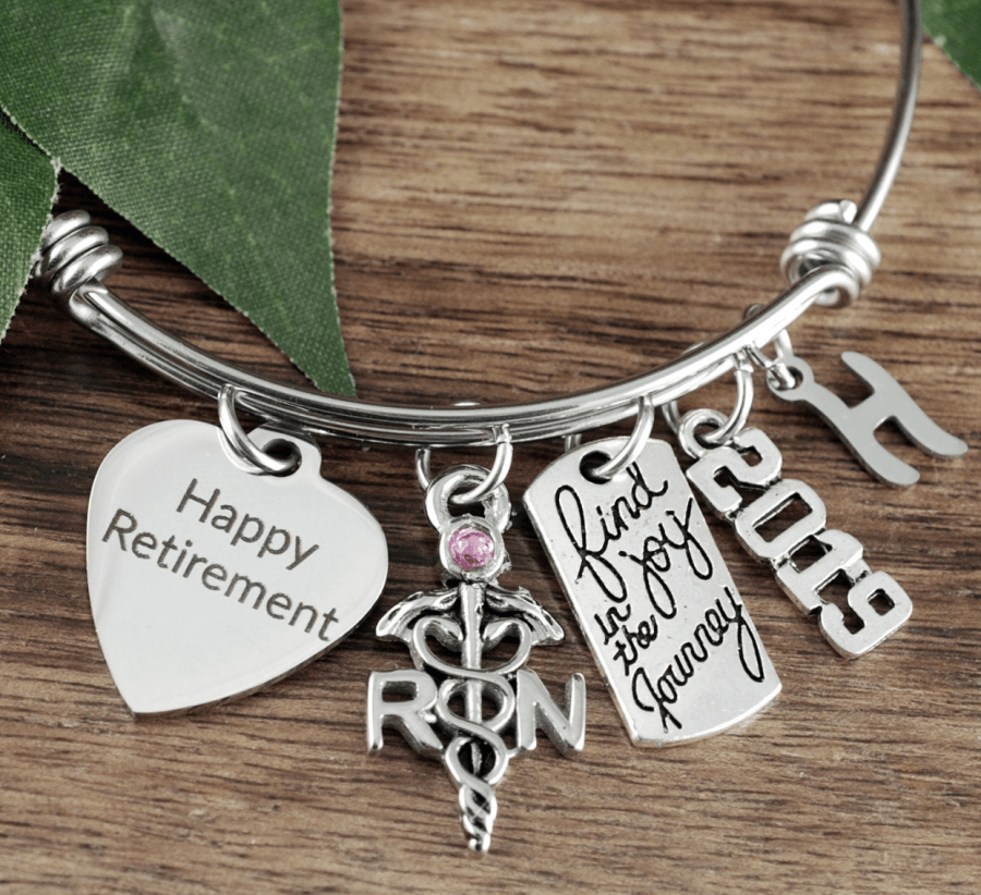 retirement gift ideas bangle women