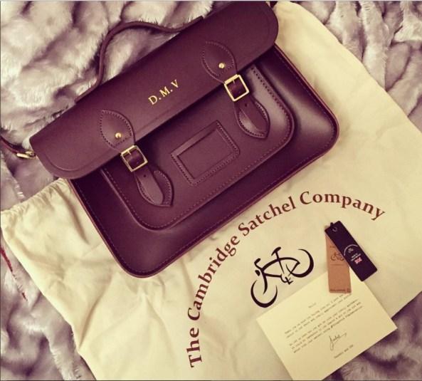 Cambridge satchel