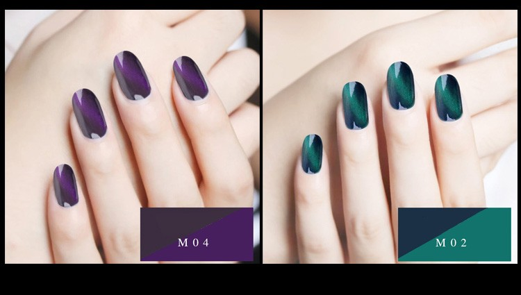 Mirror powder dust 3D Effect magnet - Nail decoration - Shopping Spark