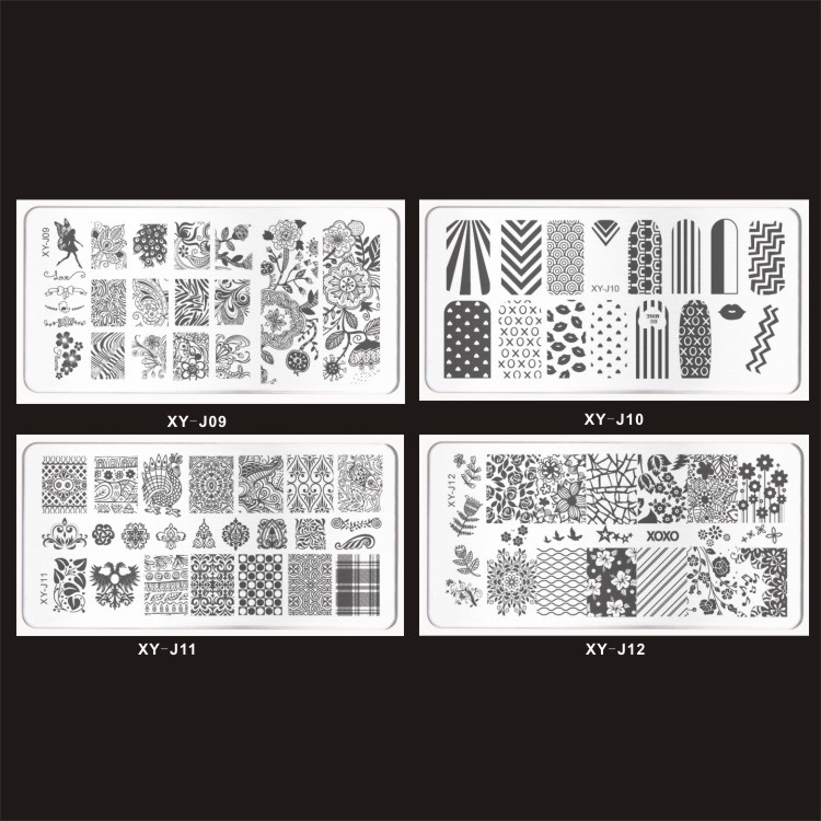Nail Art Stamping Plate - Steel Plate - Online Shopping Spark