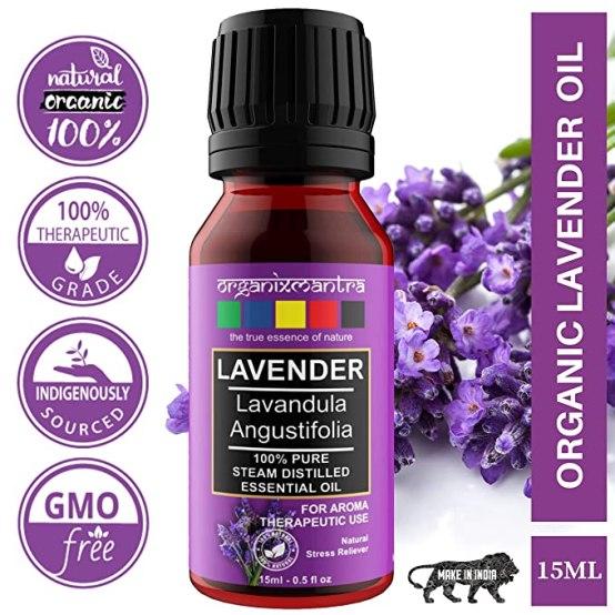 Organix Mantra Lavender Essential Oil