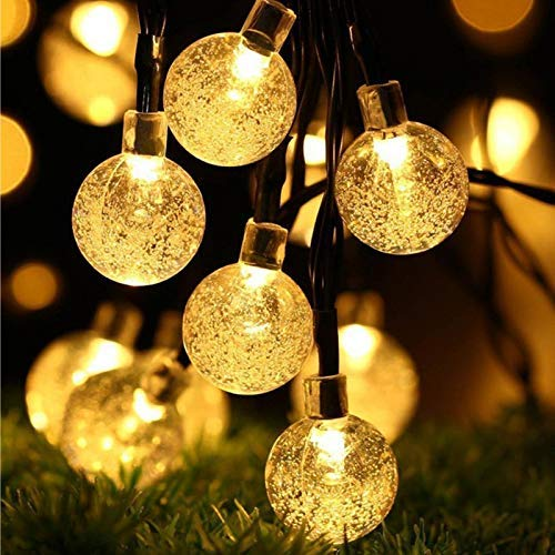 PESCA 20LED Crystal Bubble Ball String Fairy Lights
