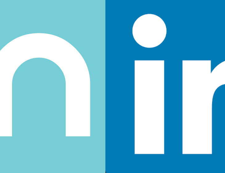 Comparison of Micromax In logo with LinkedIn logo