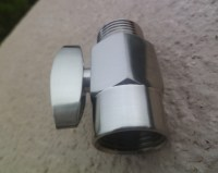 100% Brass Shower Head Shut off valve