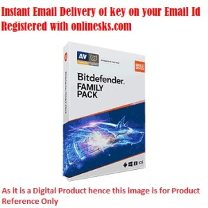Bitdefender Total Security 5 Device 1 Year Family Pack ( Instant Email Delivery of Key ) No CD Only Key