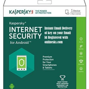 Kaspersky Internet Security for Android 1 User 1 Year Latest Version ( Instant Email Delivery of Key ) No CD Only Key