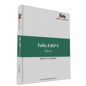 Tally ERP 9 Silver Single User (Email Delivery of Activation Key in 2 hours)