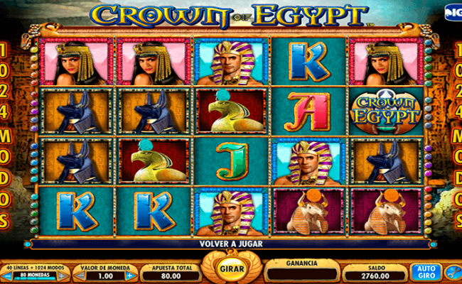 Crown Of Egypt Slot Machine Online Play Free Crown Of