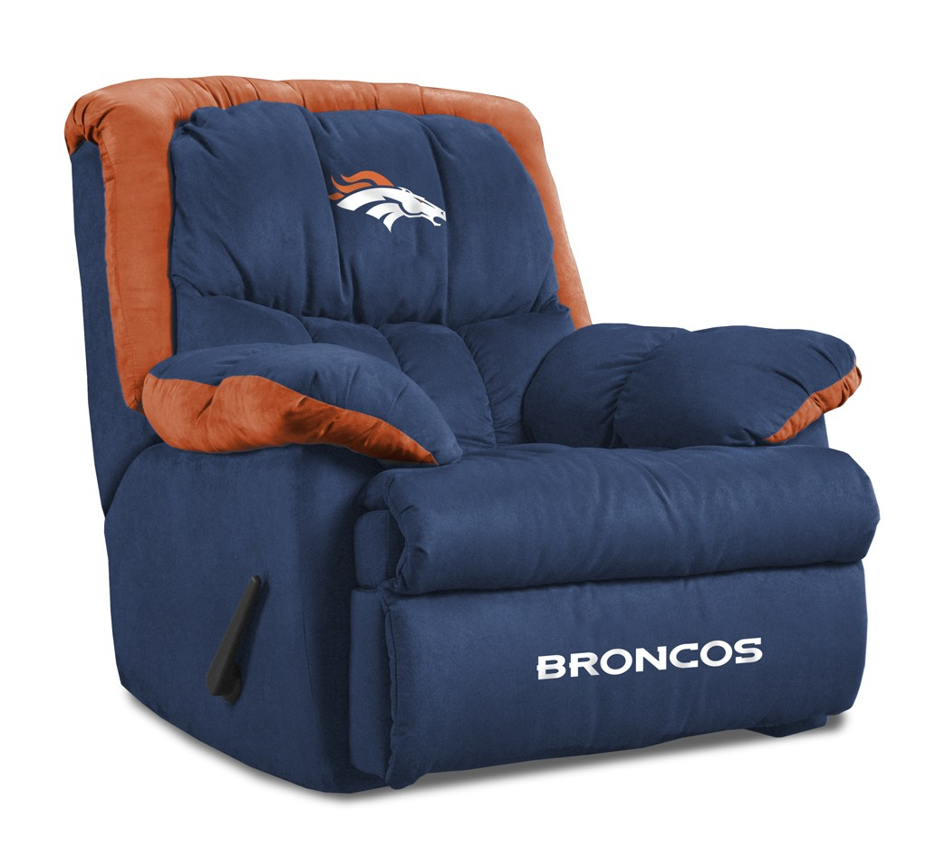 Denver Broncos Chair Denver Broncos Home Team Recliner Chair From Imperial