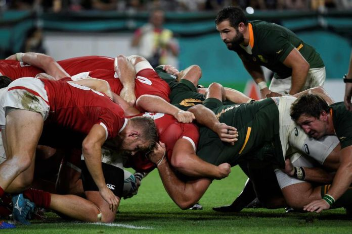 Which groups might make it to the ultimate Rugby World Cup stage?