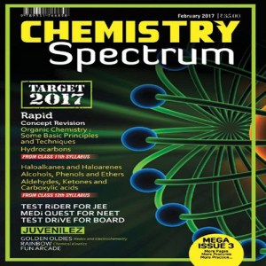 Chemistry Spectrum February 2017 Edition for JEE Mains and Advanced Examination (PDF)