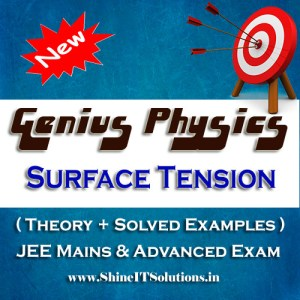 Surface Tension - Physics Genius Study Material for JEE Mains and Advanced Examination (PDF)