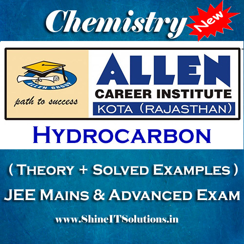 Hydrocarbon - Chemistry Allen Kota Study Material for JEE Mains and Advanced Examination (in PDF)