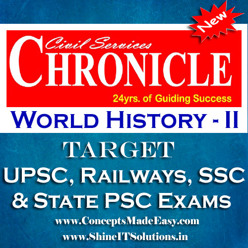 World History (Part-II) - Chronicle IAS Academy Study Material for UPSC Railways SSC and State PSC Examination (in PDF)