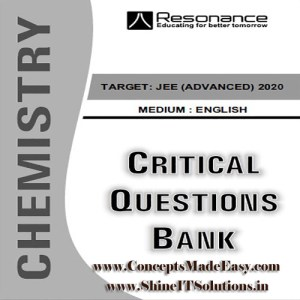 Chemistry Critical Question Bank Specially for JEE Mains and Advanced Examination in PDF