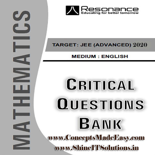 Mathematics Critical Question Bank Specially for JEE Mains and Advanced Examination in PDF