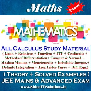 All Calculus Study Materials In One - Mathematics Best Kota Study Material for JEE Mains and Advanced Examination (in PDF)