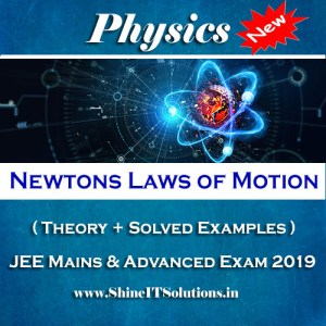 Newtons Laws of Motion - Physics Best Kota Study Material for JEE Mains and Advanced Exam (in PDF)