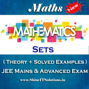 Sets - Mathematics Best Kota Study Material for JEE Mains and Advanced Examination (in PDF)