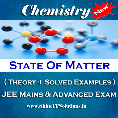 State Of Matter - Chemistry Best Kota Study Material for JEE Mains and Advanced Examination (in PDF)