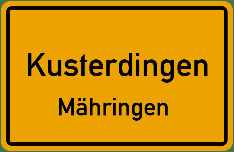 Bergstraße in 72127 Kusterdingen Mähringen (Baden-Württemberg)