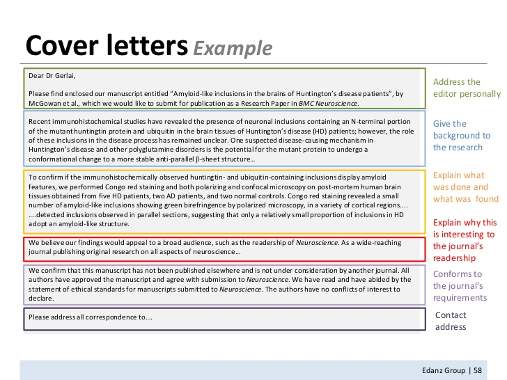 Manuscript Cover Letter-If You Want Your Research Paper to Get Rejected, Then Don't Follow These Guidelines on How to Properly Write & Structure a Research Paper; Get Published Today!