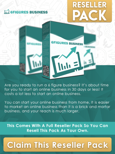 6 figures business reseller pack