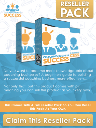 Coaching business Success reseller pack