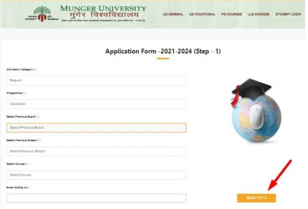 Munger University UG Admission Form Apply 2021