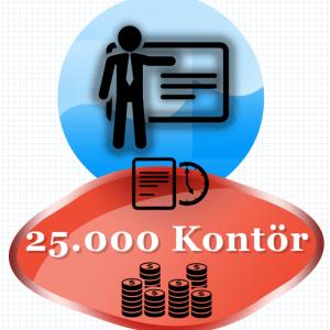 25000 Kontör