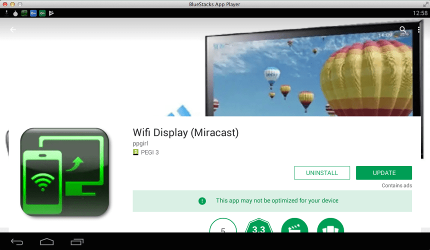 Wi-Fi Display (Miracast) for PC - Windows and Mac - Free