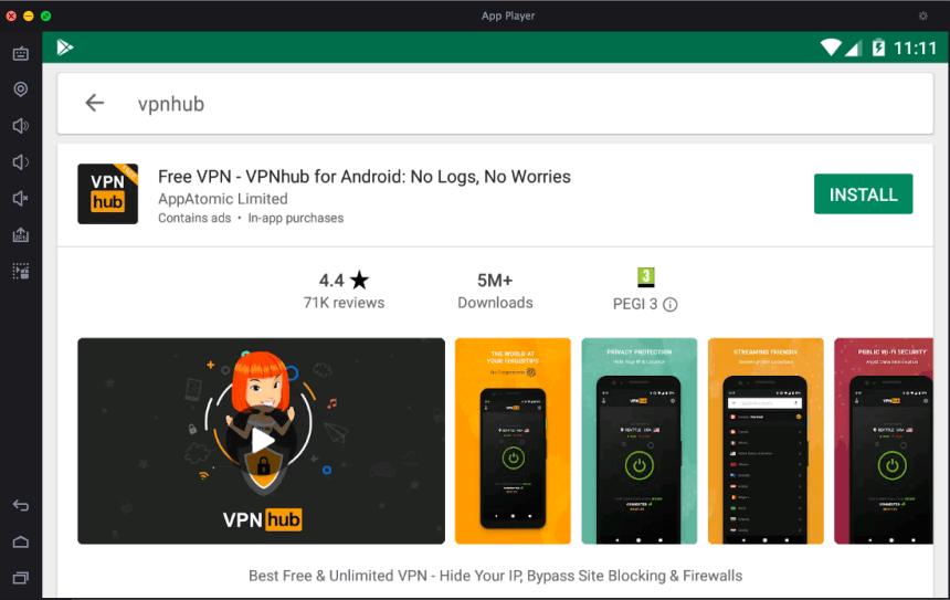 VPNhub App for PC - Free Download - Windows 7/8/10/Mac