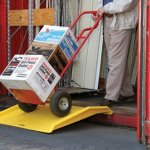 Eagle-1795CR-Polyethylene-Shipping-Container-Ramp-36-Length-x-35-Width-x-6-Height-0