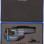 Fowler-52-611-011-EZ-Read-Digit-Tube-Micrometer-0-1-Measuring-Range-00001-Graduation-Interval-00003-Accuracy-0-0