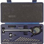 Fowler-Full-Warranty-X-tender-E-Electronic-Dial-Bore-Gage-Gauge-Set-54-646-401-14-6-Measuring-Range-0-0